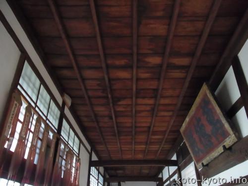血天井は伏見桃山城の遺構