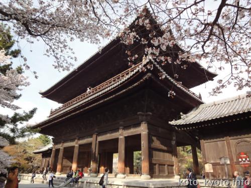 京都の街並みを一望できる