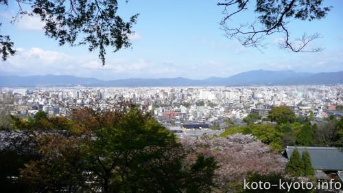 2人が眺める現代の京の街